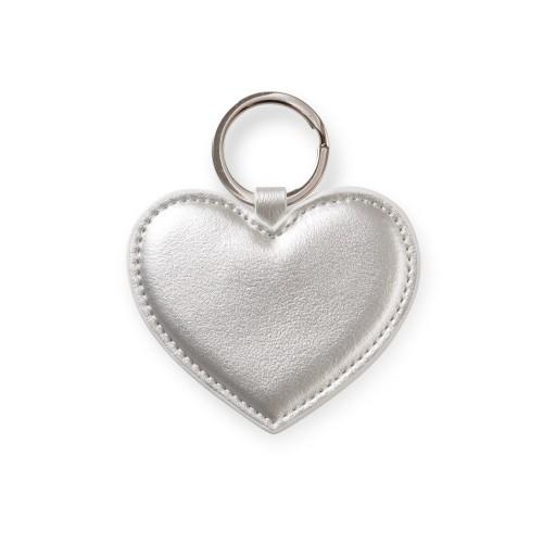 Oliver Bonas silver heart keyring